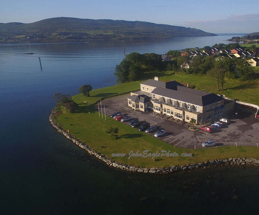 Video showcasing the Beara Coast hotel and Castletownbere trawlers