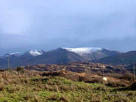 Snow on the Caha Mountains